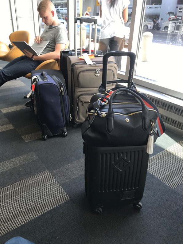 Compared to normal size luggage.