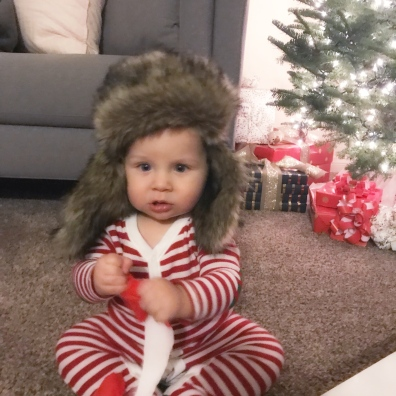 """""""Seriously Mom, this hat looks like an animal on my head!"""""""